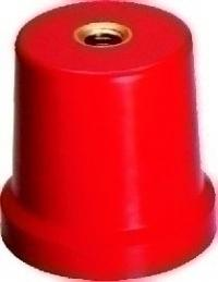 POWERMAT CONICAL INSULATOR M6x30 DMC RED C-630
