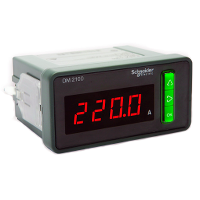 Schneider Electric Digital Voltmeter LED, 1P + N, 25...450 V AC phase to phase 0...35000 V AC with e