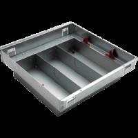 Legrand Floor Box -  Screed Floor Back  Box - 264x264x86mm - 3 Compartments 689638