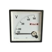 HIMEL VOLTMETER 0-500V EQ72 90Deg CL1.5, H72LV500FHG