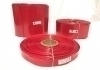 POWERMAT PVC HEAT SHRINKABLE SLEEVE, Thickness 0.17mm , 128mm RED, PMTHS-100128R