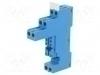 FINDER, Relay Terminal Socket, Screw Type, 8PIN, 9702SPA