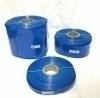 POWERMAT PVC HEAT SHRINKABLE SLEEVE  Thickness 0.17mm , 35mm BLUE