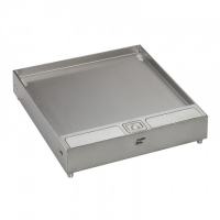 Legrand Floor Box -  Lid and Trim with Stainless Steel  for Tile 8 to 15mm Thickness 689651