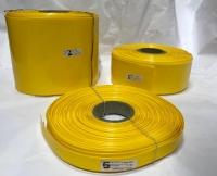 POWERMAT PVC HEAT SHRINKABLE SLEEVE, Thickness 0.17mm , 170mm YELLOW, PMTHS-100170Y