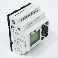 Eaton Control Relay, 100-240VAC, 8DI, 4DO relays, Display, Time, EASY512-AC-RC